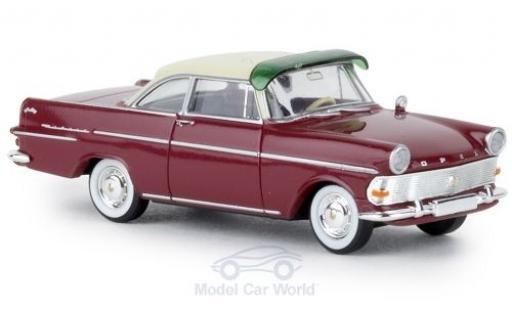 Opel Rekord 1/87 Brekina P2 Coupe rouge/beige TD miniature