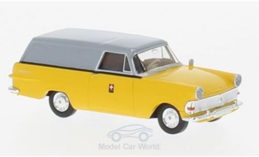 Opel Rekord 1/87 Brekina P2 Kasten PTT (CH) miniature