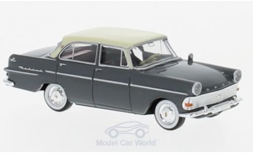 Opel Rekord 1/87 Brekina P2 Limousine grise/beige miniature