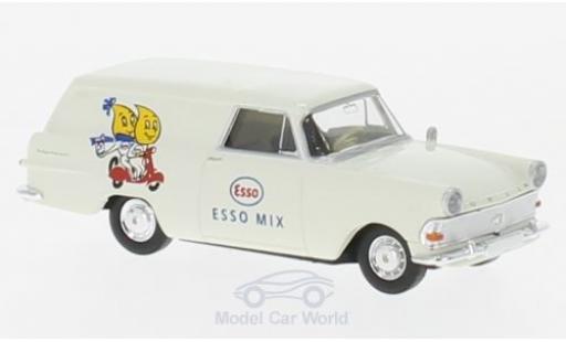 Opel Rekord 1/87 Brekina P2 Van Esso-2T-Mix miniature