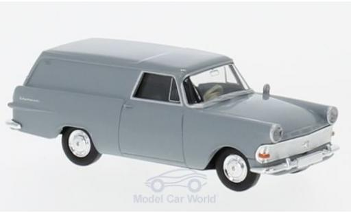 Opel Rekord 1/87 Brekina P2 Van grise miniature