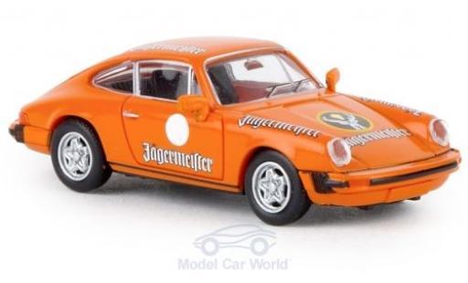Porsche 911 1/87 Brekina G Jägermeister 1976 TD miniatura