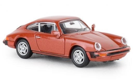 Porsche 911 1/87 Brekina G metalico rosa Jägermeister 1976 TD miniatura