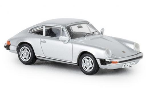 Porsche 911 1/87 Brekina G métallisé grise DDR 1976 TD miniature