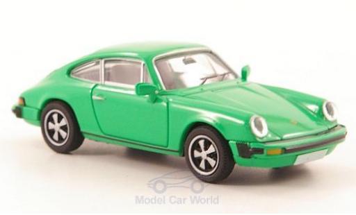 Porsche 911 1/87 Brekina (G-Reihe) green diecast model cars