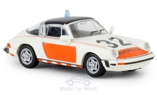 Porsche 930 Targa 1/87 Brekina 911 G Rijkspolitie 32 1976 TD miniature