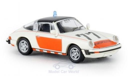 Porsche 930 Targa 1/87 Brekina 911 G Rijkspolitie 77 1976 TD miniature