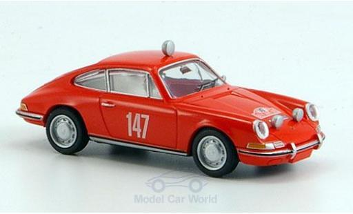 Porsche 911 1/87 Brekina No.147 Rallye Monte-Carlo 1965 miniatura