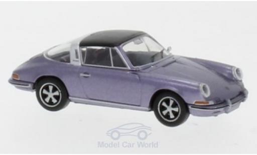 Porsche 911 Targa 1/87 Brekina metallise purple diecast model cars