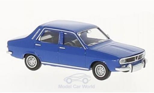 Renault 12 TL 1/87 Brekina bleue miniature