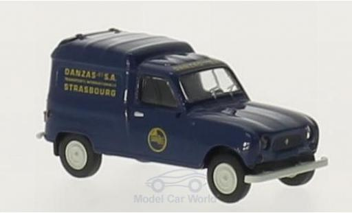 Renault 4 1/87 Brekina R Fourgonnette Danzas Strasbourg miniature