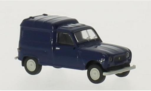 Renault 4 1/87 Brekina R Fourgonnette bleue miniature
