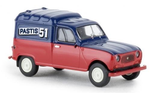 Renault 4 1/87 Brekina R Fourgonnette Partis 51 1961 diecast model cars