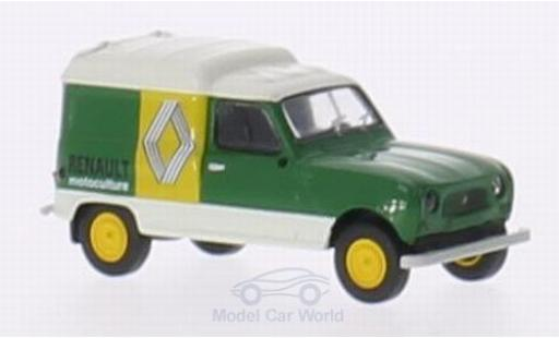 Renault 4 1/87 Brekina R Fourgonnette Motoculture miniature
