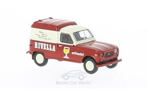 Renault 4 1/87 Brekina R Fourgonnette Rivella (CH) miniature
