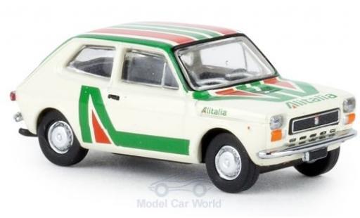 Fiat 127 1/87 Brekina Alitalia 1971 diecast model cars