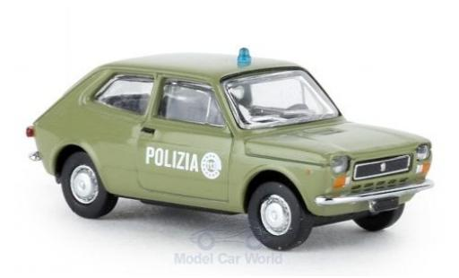 Fiat 127 1/87 Brekina Polizia 1971 diecast model cars