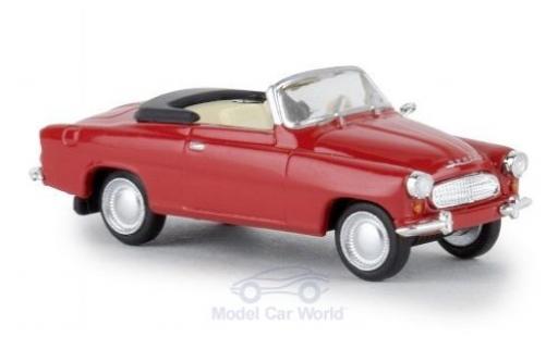 Skoda Felicia 1/87 Brekina red 1959 diecast model cars
