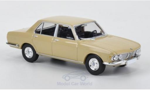 Bmw 2500 1/87 Brekina beige diecast model cars