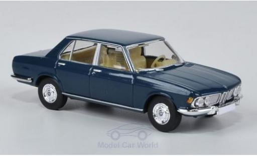Bmw 2500 1/87 Brekina blue diecast model cars