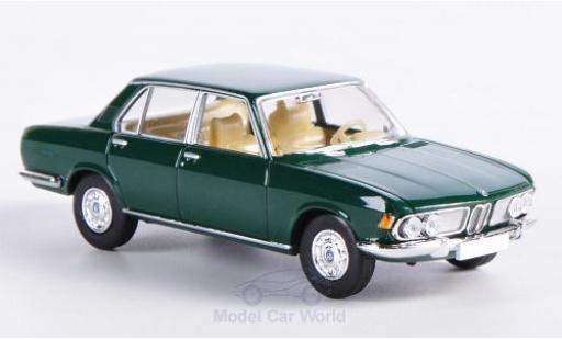 Bmw 2500 1/87 Brekina green diecast model cars