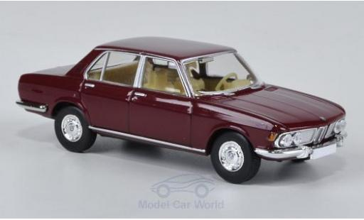Bmw 2500 1/87 Brekina red diecast model cars