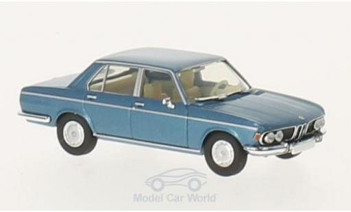 Bmw 3.0 S 1/87 Brekina Starmada BMW Si metallic-bleue miniature