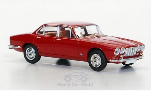 Jaguar XJ 6 1/87 Brekina red diecast model cars