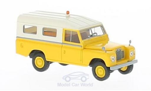 Land Rover 109 1/18 Brekina jaune miniature