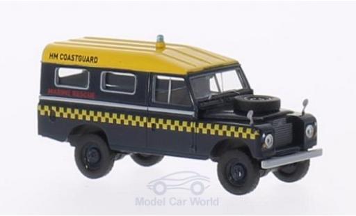 Land Rover 109 1/18 Brekina Station RHD HM Coastguard (GB) Marine Rescue miniature