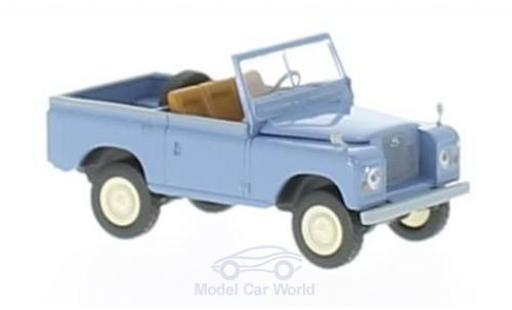 Land Rover 88 1/18 Brekina Starmada bleue miniature