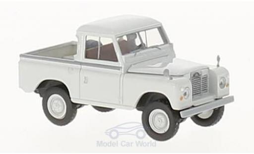 Land Rover 88 1/18 Brekina grise geschlossen miniature