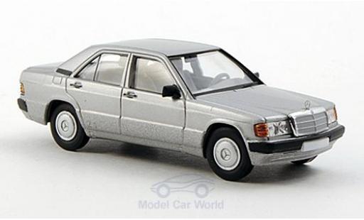 Mercedes 190 E 1/87 Brekina Starmada E (W201) grise miniature