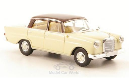 Mercedes 190 E 1/87 Brekina c (W110) beige/brown diecast model cars