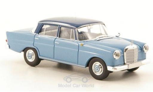 Mercedes 190 E 1/87 Brekina c (W110) bleue/bleue miniature