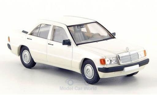Mercedes 190 E 1/87 Brekina (W201) blanche 1988 miniature