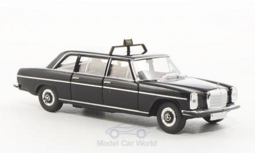 Mercedes 220 1/87 Brekina Starmada D lang (V115) noire Taxi (D) miniature