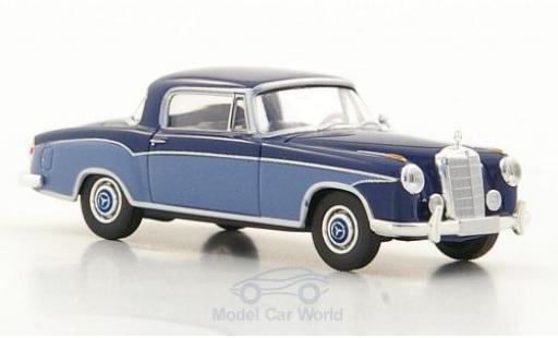 Mercedes 220 1/87 Brekina Starmada S Coupe (W180 II) dunkelbleue/hellbleue miniature