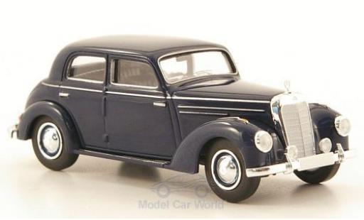 Mercedes 220 1/87 Brekina Starmada (W187) dunkelbleue miniature
