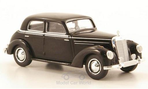 Mercedes 220 1/87 Brekina Starmada (W187) noire Taxi miniature
