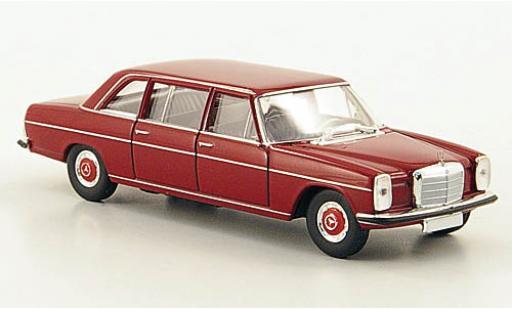 Mercedes 220 1/87 Brekina D lang (V115) rouge 1970 ohne Vitrine miniature