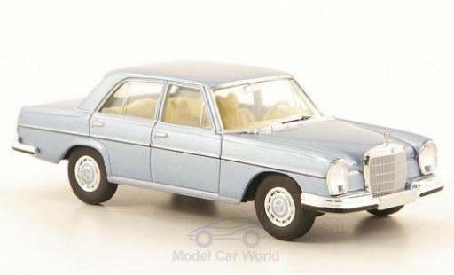 Mercedes 280 SE 1/87 Brekina 3.5 (W108) metallise bleue miniature