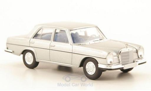 Mercedes 280 SE 1/87 Brekina 3.5 (W108) grey diecast model cars