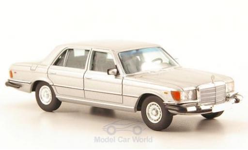 Mercedes 450 SEL 1/87 Brekina Starmada SEL (W116) grise US-Version miniature