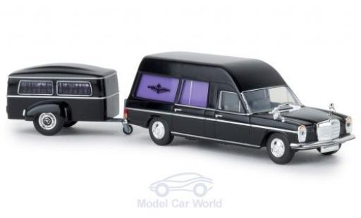 Mercedes /8 1/87 Brekina Bestattungswagen mit Anhänger diecast model cars