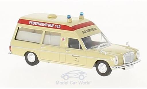 Mercedes /8 1/87 Brekina Feuerwehr Lübeck Krankenwagen diecast model cars