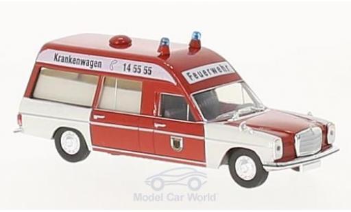 Mercedes /8 1/87 Brekina KTW Feuerwehr Dortmund diecast model cars