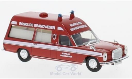 Mercedes /8 1/87 Brekina KTW Roskilde Brandvaesen (DK) diecast model cars