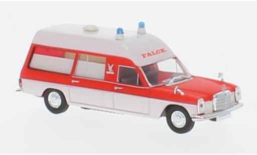 Mercedes /8 1/87 Brekina KTW rouge/blanche Falck miniature