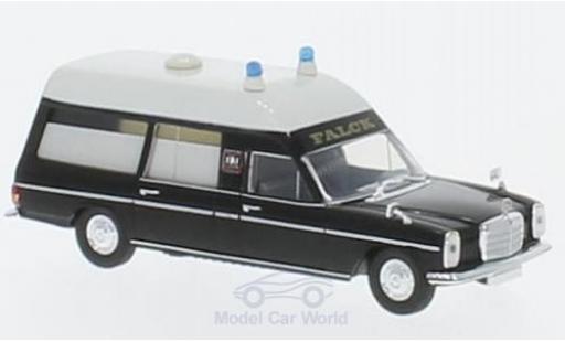 Mercedes /8 1/87 Brekina Starmada KTW noire/blanche Falck miniature